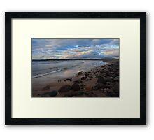 Golden Strand, Achill Island. Framed Print
