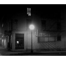 Midnight in Noirsville Photographic Print