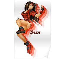Blaze Fielding: Streets of Rage Poster