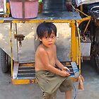 cambodian child by sarcalder