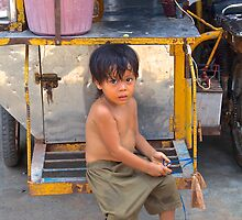 cambodian child by sarcalder