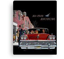 B-58 Buick  Canvas Print