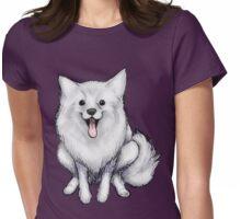 Pomeranian Womens Fitted T-Shirt