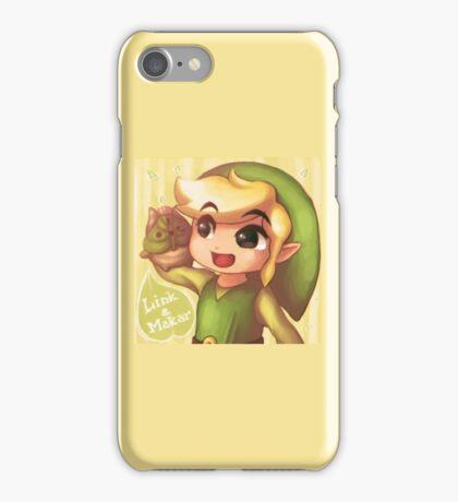 Legend of Zelda: Wind Waker buddies iPhone Case/Skin