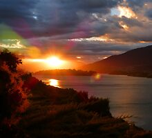 Queenstown Sunset by looneyatoms