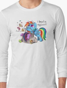 Easter Egghead Long Sleeve T-Shirt