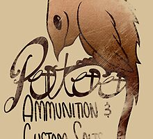 Potoo CO. Ammunition and Custom Salts! by Maxxie-Delu