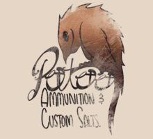 Potoo CO. Ammunition and Custom Salts! T-Shirt