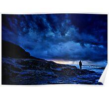 Cornish Sunset Poster