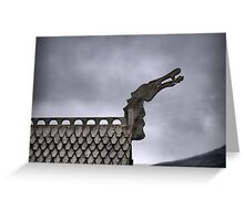 Flåm Viking House - Scales of the Dragon Greeting Card