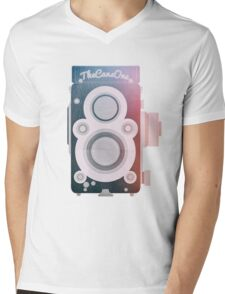 Twin Lens Reflex Camera _ Photography Addicted Mens V-Neck T-Shirt
