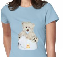 Potty training Womens Fitted T-Shirt