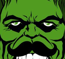 Hulk Stache Sticker