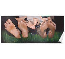 Family Feet Poster