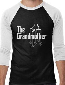 The Grandmother - Mafia Movie Spoof Men's Baseball ¾ T-Shirt