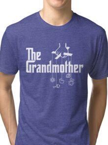 The Grandmother - Mafia Movie Spoof Tri-blend T-Shirt