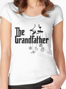 The Grandfather - Mafia Movie Spoof Women's Fitted Scoop T-Shirt