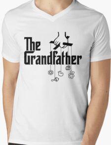 The Grandfather - Mafia Movie Spoof Mens V-Neck T-Shirt