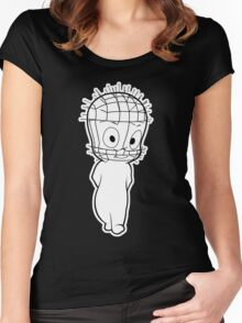 The Unfriendly Ghost Women's Fitted Scoop T-Shirt