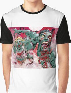 Zombie Run!! Graphic T-Shirt