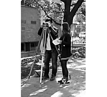 Surveying Photographic Print