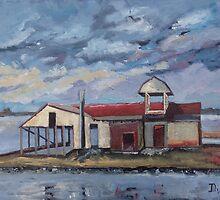 Last Oyster Shucking House by Phyllis Dixon