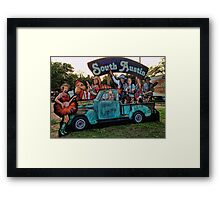 Welcome to South Austin, Trailer Food Park on S. 1st Framed Print