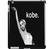 Black Swan Kobe  iPad Case/Skin