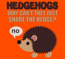 Hedgehogs can't share by sweetsisters