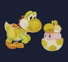 Yoshi & Kirby by Lif3s