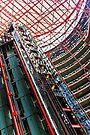 Thompson Center Interior Elevator Shaft Detail by Roger Passman