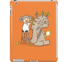 Wookie is a wonderful friend iPad Case/Skin