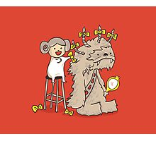 Wookie is a wonderful friend Photographic Print