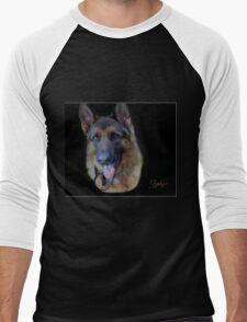 Zephyr - Portrait Men's Baseball ¾ T-Shirt