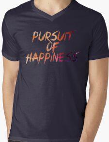 Pursuit of Happiness Mens V-Neck T-Shirt