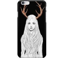 Stag Girl iPhone Case/Skin