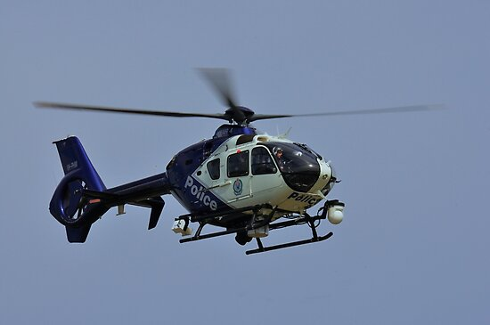 Eurocopter EC135 P2+, PolAir 4, VH-PHM, NSW Police Force by Tim Pruyn