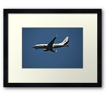 Boeing BBJ, A36-001, 34 Squadron, Defence Establishment Fairburn Framed Print