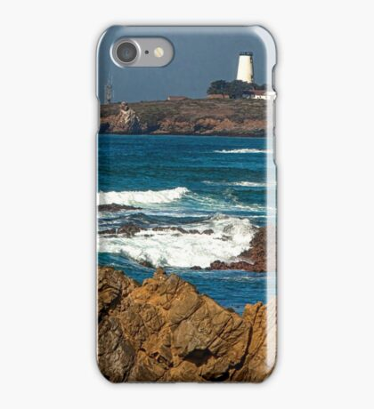 Piedras Blancas Lighthouse HDR iPhone Case/Skin