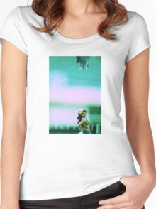 Hula Girl Women's Fitted Scoop T-Shirt