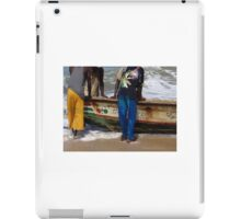Pushing The Boat Out iPad Case/Skin