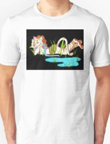Tiger in the Grass Unisex T-Shirt