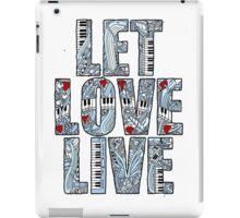 Let Love Live iPad Case/Skin
