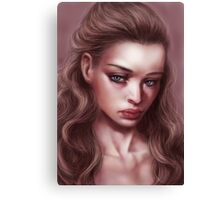 Doll Face Canvas Print