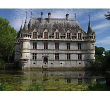 Moated Residence, Loire Valley, France Photographic Print