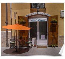Cafe las delicias, Valencia Poster