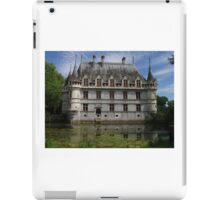 Moated Residence, Loire Valley, France iPad Case/Skin