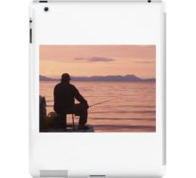 Sunset Fisherman iPad Case/Skin