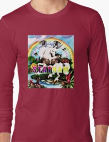 Rainbow Statham Massacre Long Sleeve T-Shirt
