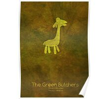 The Green Butchers Minimalist Poster Poster